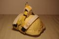 リクガメ専用ハーネス 黄色水玉 スター