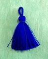 予約限定:素材タッセルミニ 青