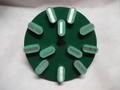8インチ(200ミリ) #50 Z5 石材用メタル研磨盤 レジ巻きタイプ  (税抜き20000円 税2000円)