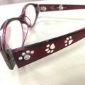 シニアグラス(老眼鏡)猫足跡