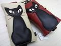 ★黒猫がかわいい♪★ノア メガネケース