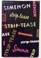 【ペーパーバック】シムノン/Strip-tease/1959年