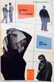 【ペーパーバック】モンマルトルの人々(写真付き)/MENSEN IN MONTMARTRE/トリコロール風デザイン/1956年