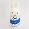 SALE 世界2000体限定ブルーチューリップ着物ミッフィーぬいぐるみ/Limited Edition Blue Tulip Kimono Miffy