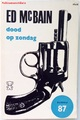 【ペーパーバック】dood op zondag/ED MCBAIN/拳銃、ピストル/1965年