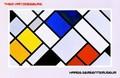 【大判ポスター】デ・ステイル結成者テオ・ファン・ドゥースブルフデザイン オランダ製 Theo van Doesburg 97*63