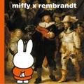 【図録・絵本】レンブラント没後350年ミッフィーとレンブラント/miffy×rembrandt/RIJKSMUSEUM限定/英語