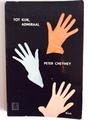 【ペーパーバック】TOT KIJK, ADMIRAAL/PETER CHEYNEY/1956年/ZWARTE BEERTJES 36/3色の手