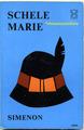 【ペーパーバック】SIMENON 帽子マリー1963年 ブルーナデザイン