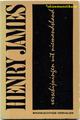【ペーパーバック】HENRY JAMES 1969年 ブルーナデザイン