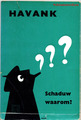 【ペーパーバック】HAVANK シャドウシリーズ 1966年 ブルーナデザイン