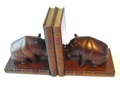 BOOKEND Hippopotamus:ブックエンド カバ [The Original Book Works]