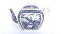 JAMES SADLER AFTERNOON TEA ABBEY FALLS BLUE & WHITE 1 CUP TEAPOT:ジェームズ サドラー アフタヌーンティー 修道院の滝が描かれた1カップ用 ティーポット