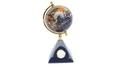 Gemstone Globe:卓上地球儀(時計付)
