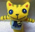 黄色のトラ猫