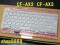 A17★AX3C AX3W系 ~ AX2Q AX2L AX2P系 Pana純正新品キーボード白