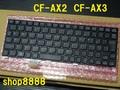 A18★AX3C AX3W系 ~ AX2Q AX2L AX2P系 Pana純正新品キーボード黒