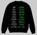 ポルトガル語(あいさつ)トレーナー S~2XL PORTUGUESE GREETINGS Sweatshirt