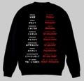 トルコ語(あいさつ)トレーナー S~2XL  TURKISH GREETINGS Sweatshirt