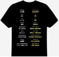 スペイン語(食事)Tシャツ 3XL~5XL  SPANISH MEAL T-Shirt