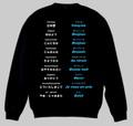 フランス語(あいさつ)トレーナー 3XL~4XL  FRENCH GREETINGS Sweatshirt