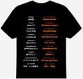 オランダ語(あいさつ)Tシャツ 3XL~5XL  DUTCH GREETINGS T-Shirt