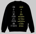 スペイン語(食事)トレーナー S~2XL  SPANISH MEAL Sweatshirt