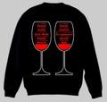 ワイングラス トレーナー S~2XL  WINEGLASSES Sweatshirt