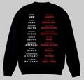 スペイン語(あいさつ)トレーナー 3XL~4XL SPANISH GREETINGS Sweatshirt