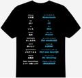 オランダ語(食事)Tシャツ 3XL~5XL  DUTCH MEAL T-Shirt