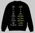 スペイン語(食事)トレーナー 3XL~4XL  SPANISH MEAL Sweatshirt