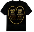 ありがとうTシャツ 3XL~5XL  THANK YOU T-Shirt