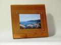 天然木フォトフレーム L版サイズ NO.5 ケンポナシの木製写真立て