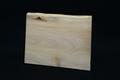 筆文字で書いた天然木サンクスボードNo.9 シナの天然木