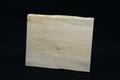 筆文字で書いた天然木サンクスボードNo.7 シナの天然木