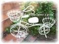 *natural*かわいいアイアン自転車*フールヴェロー(S)白