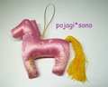 カンセ(馬の飾り)キット ■ ピンク
