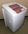 【関東限定・送料無料】日立 ビートウォッシュ 7kg洗濯機 BW-7PV(P) 2012年製(8S11481) 【中古】