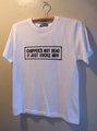 CHOPPER'S NOT DEAD(RHS ver) - S/S T-shirt (WHITE)