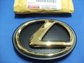 2014 LEXUS 24K ゴールドフロントエンブレム (エンブレムベース付属)