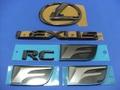 LEXUS RC-F ブラックパール エンブレムキット - 5PCS