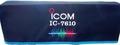 3色刺繍入り ダストカバー IC7610 Special Edition 数量限定特価品