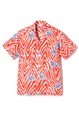 """Rayon Shirt  """"Tribe """" -Orange-"""