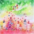 ハッピークリスマス(額付)