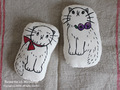 Margaret&Eimy 刺繍miniクッション