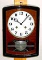 愛知時計 小型柱時計 昭和30年代【W024】