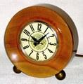 LANSHIRE(アメリカ) 木製置時計 1950〜1960年代【E033】