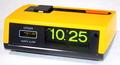 シチズン 電池式パタパタクロック(イエロー) 昭和40年代後半〜50年代前半【E052】