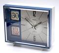 リズム時計 カレンダー付き目覚時計 昭和40年代【055】