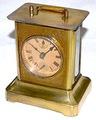 BADISCHE UHRENFABRIK(ドイツ) 角形オルゴール目覚時計 1910年頃【K017】